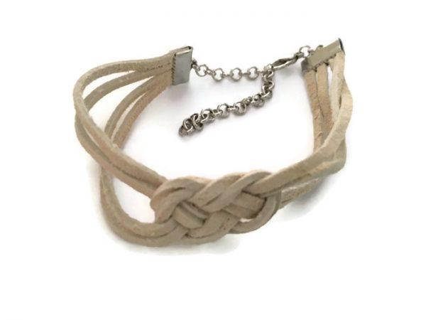 Suede Sailor Knot Bracelet