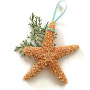 tropical large starfish ornament