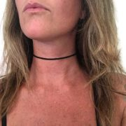 Simple Beach Suede Choker