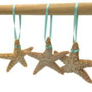 Glittered Sugar Starfish Ornaments 10