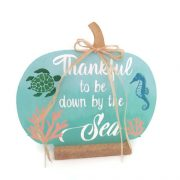 Thankful to be by the sea pumpkin