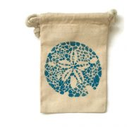 Tropical Sand Dollar Party Favor bag