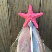 Pink Mermaid wand