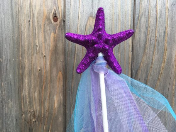 Purple Mermaid Wand 2