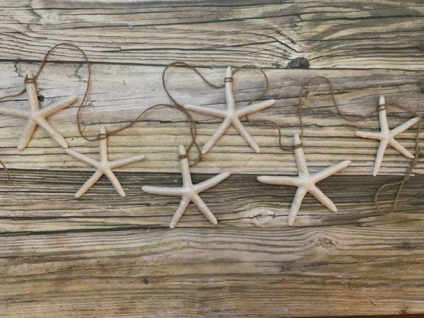 Pearl Starfish 5 foot garland
