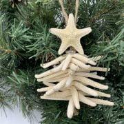 Starfish Tree Christmas Ornament 6