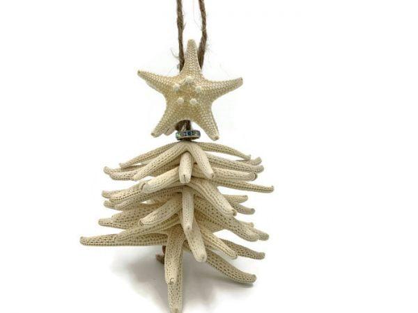 Starfish Tree Christmas Ornament 7