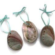 Abalone Seashell Ornaments