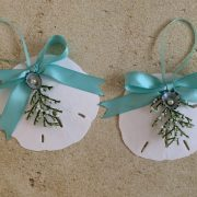 Holiday Sand Dollar Christmas Ornament 5