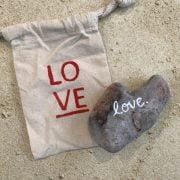1.109 Hear Shaped Beach Stone