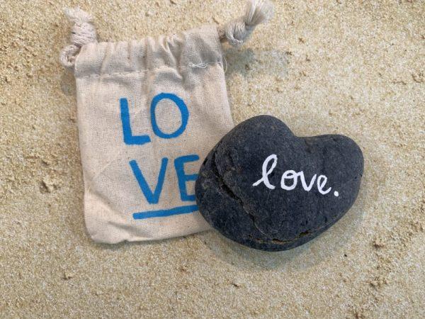 1.87 Heart Shaped Beach Stone