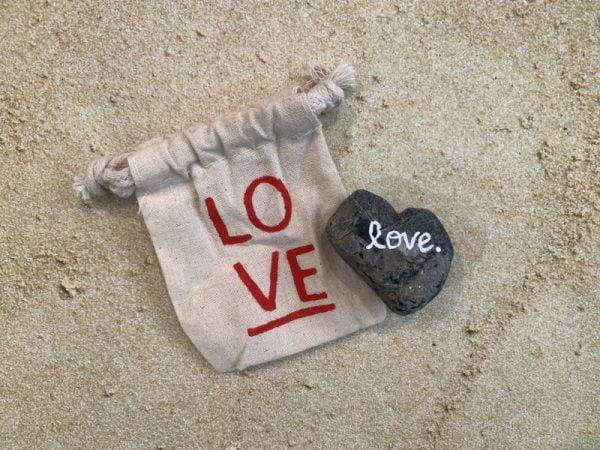 1.91 Multi heart shaped rock