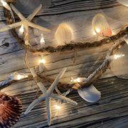 Multi Seashell Beach Decor Lights