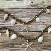 seashell and starfish garland 5