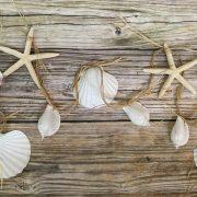 Beach Seashell and Starfish Garland 7