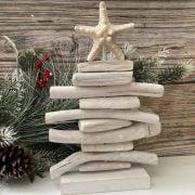 White Driftwood Christmas Tree 2